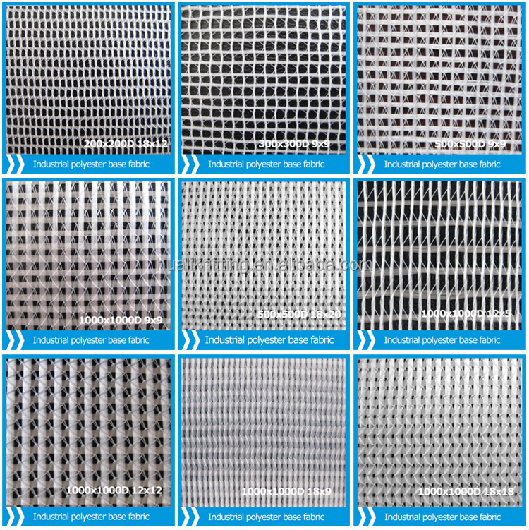 Warp Knitting Fabric Process : Industrial polyester fabric for warp knitted composite