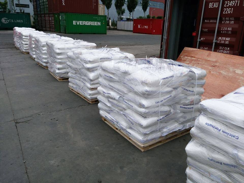 Calcium formate 98% construction additive CAS 544-17-2