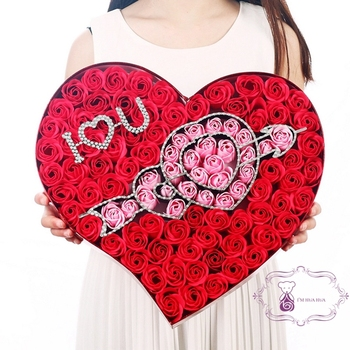 Products 2018 Wedding Anniversary Gifts Love Valentine Gift Set Red