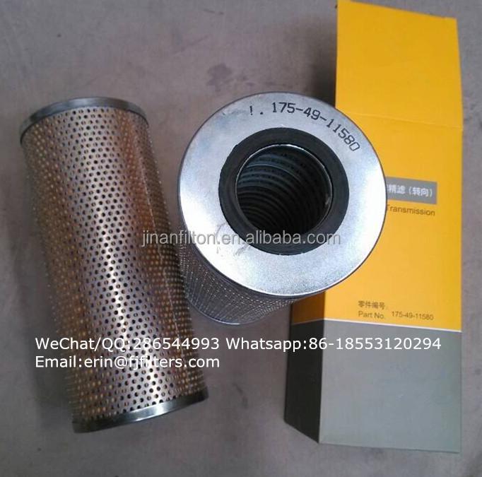 Auto /car Parts Shantui Bulldozer Transmission Filter Oil Filter ...