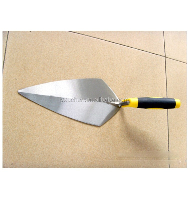 forged brick trowel with soft handle