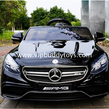 Hot sale reliable and cheap licensed ride-on mercedes benz com children car amg wheels