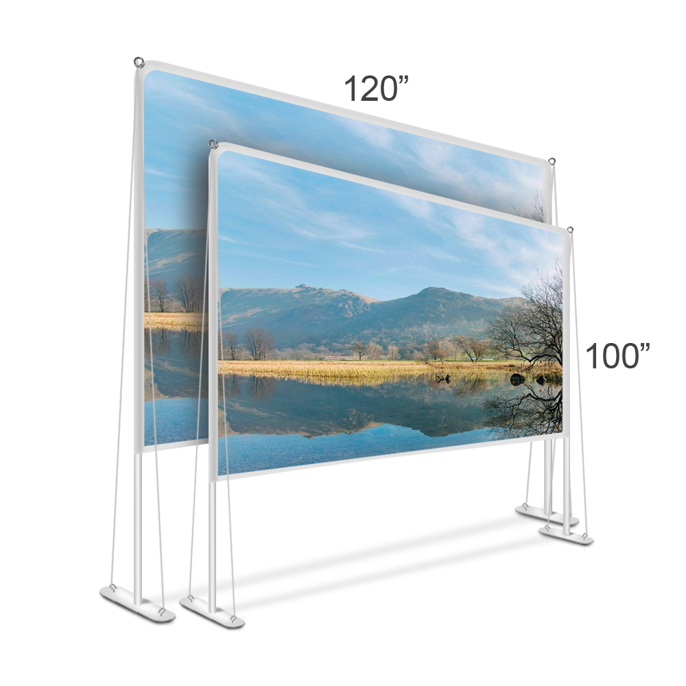 New style! Outdoor Projection Screen