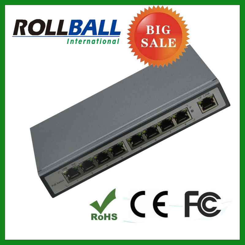 best price power over ethernet 9 port poe switch