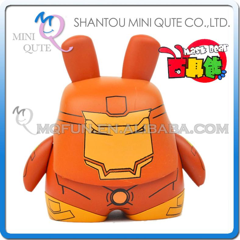 Mini Qute Máscara Oso 65 Cm Marvel Superhéroes Kawaii Muñeco De