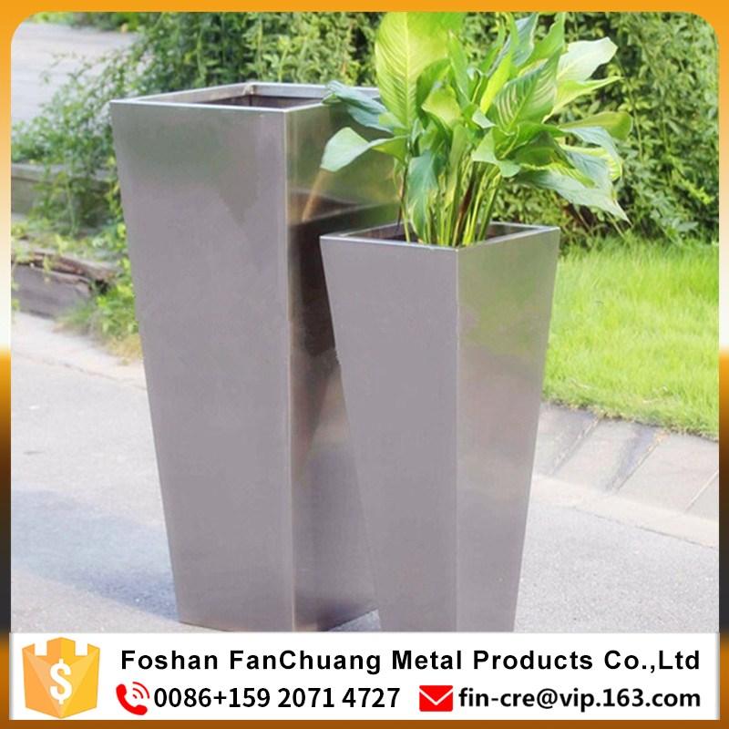 Italian Stainless Steel Flower Pot & Italian Stainless Steel Flower Pot - Buy High Quality Stainless Steel ...