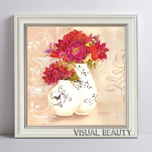 Vintage Flower in Vase Mount Frames Photo Free