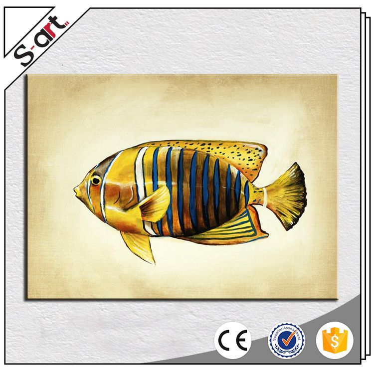 Special customized original design animal fish oil painting