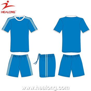 bfe9b657a Healong Green Soccer Jersey Factory Kit Pants Boys Custom Soccer Uniform  Sets