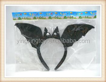 halloween party names black bat hair hoop