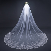 TS17124-1 China factory price bridal veil fashions wedding glitter fabric VEIL