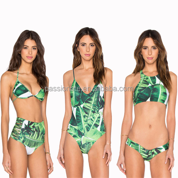 Custom Fashion Swimwear Manufacturer Women Fashion Show Brazilian Bikini Swimwear 2017