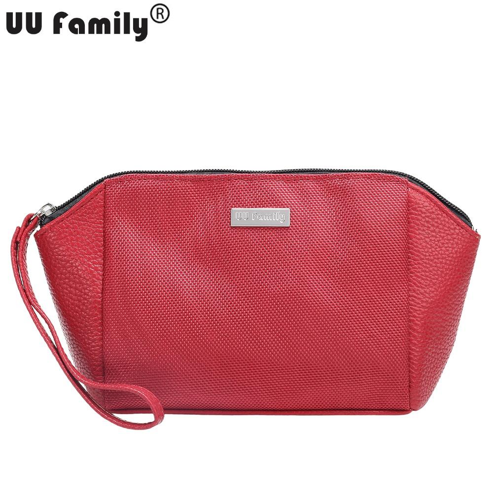 UU Family Water Proof Oxford Cosmetic Wash Bag Women Makeup Bag Organizer Beautician Washing Bag