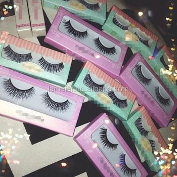 Personal Brand Name Mink False Eyelashes With Own Logo Siberian Mink  Eyelashes With Packaging - Buy Personal Brand Real False Eyelash,Own Logo