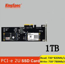 Kingspec multicode Pci-E Express 2.0 1TB SSD Solid State disk HDD internal card Read 820MB/S for PC server Gamer/laptop/desktop