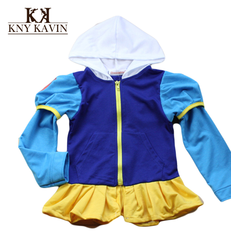 New Autumn Children Cartoon Coats Casual Boys&Girls Hooded Jackets 2-7 Years Children Outwear Girls Sports Jackets Coats KU873