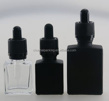 Wholesale Gift Paper Box and 30ml 60ml Rectangular Eliquid Ecig Glass Dropper Bottles With Childproof Cap
