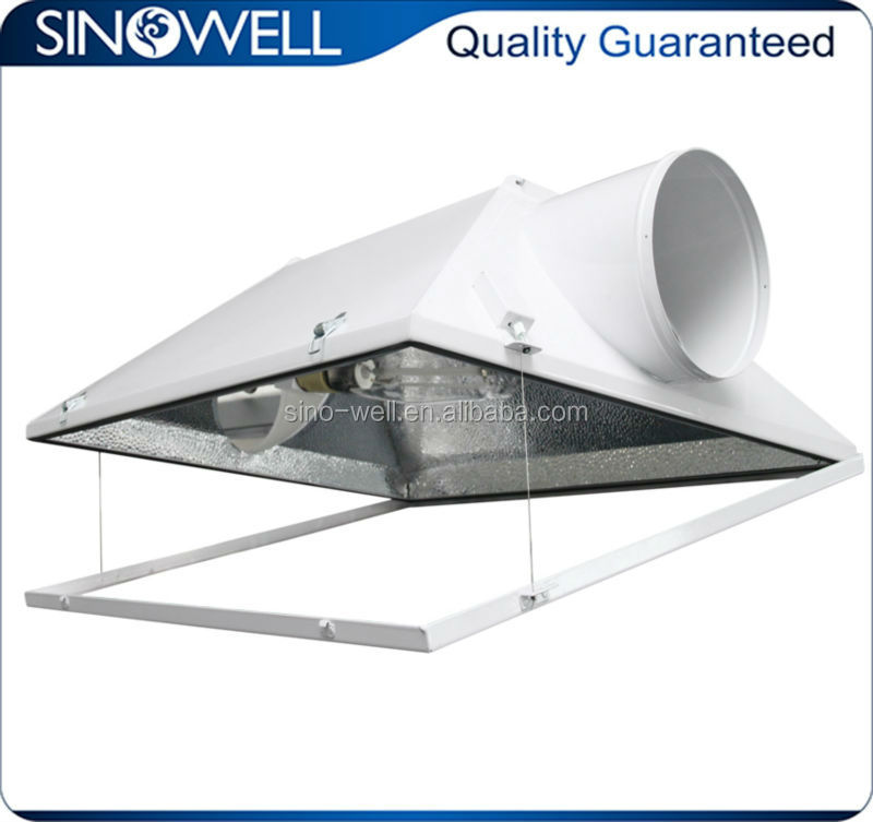 Reflector for HPS/Fluorescent lamp reflector