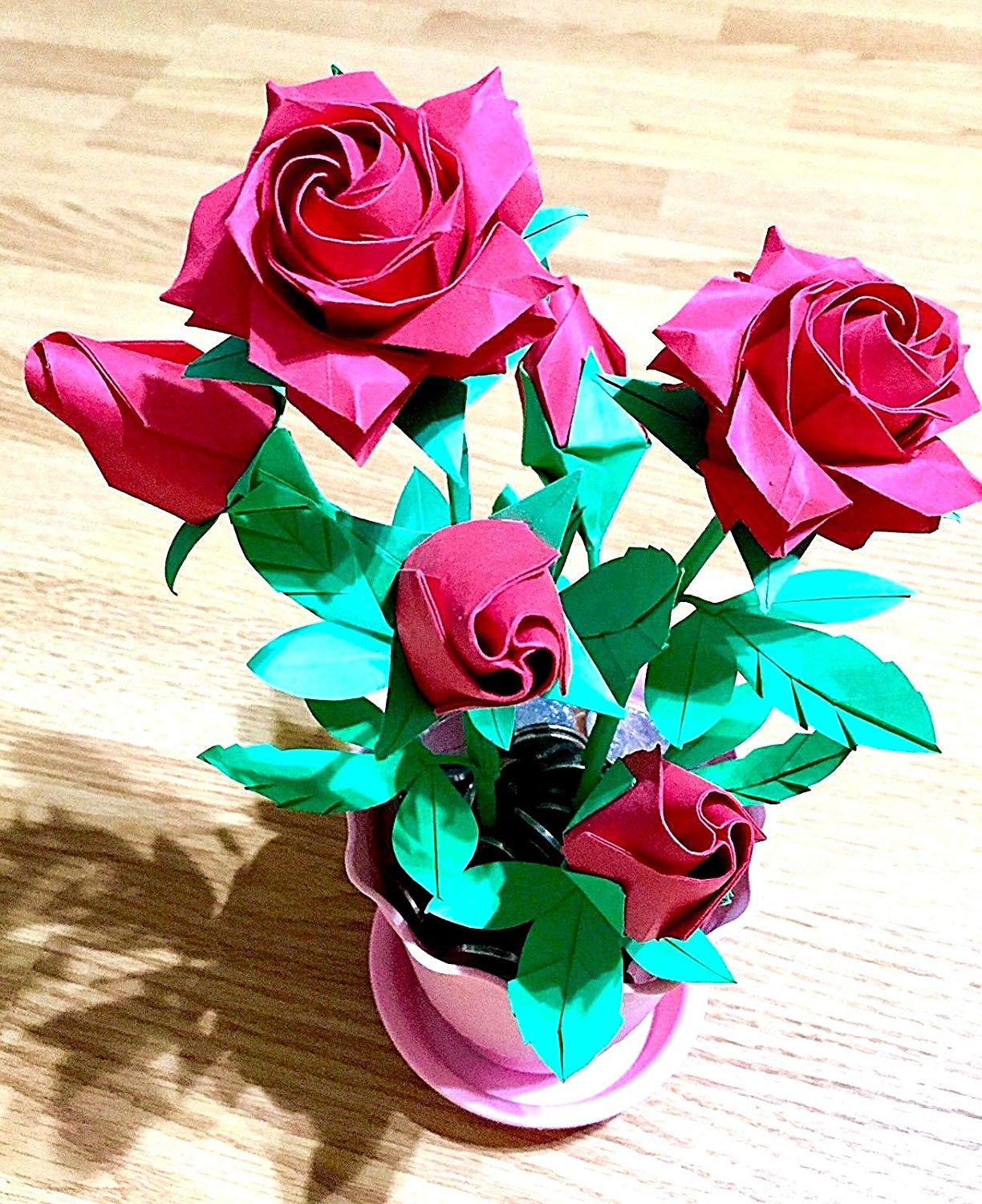 How to Make an Origami Rose Box - Snapguide | 1500x1224
