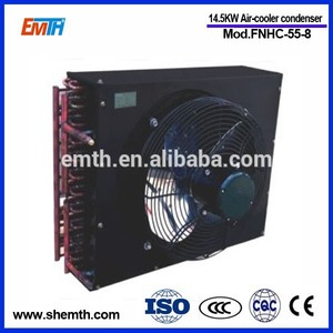 Copper coil condenser air cooled conditioner fin