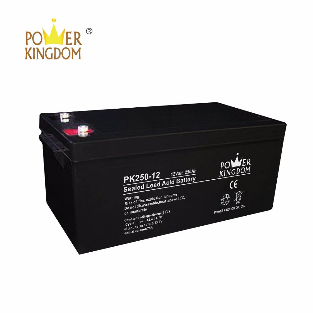 Top deep cycle battery ratings manufacturers solar and wind power system-2