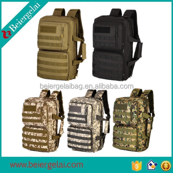Cheap price camping hiking mountaineering camo military tactical backpack