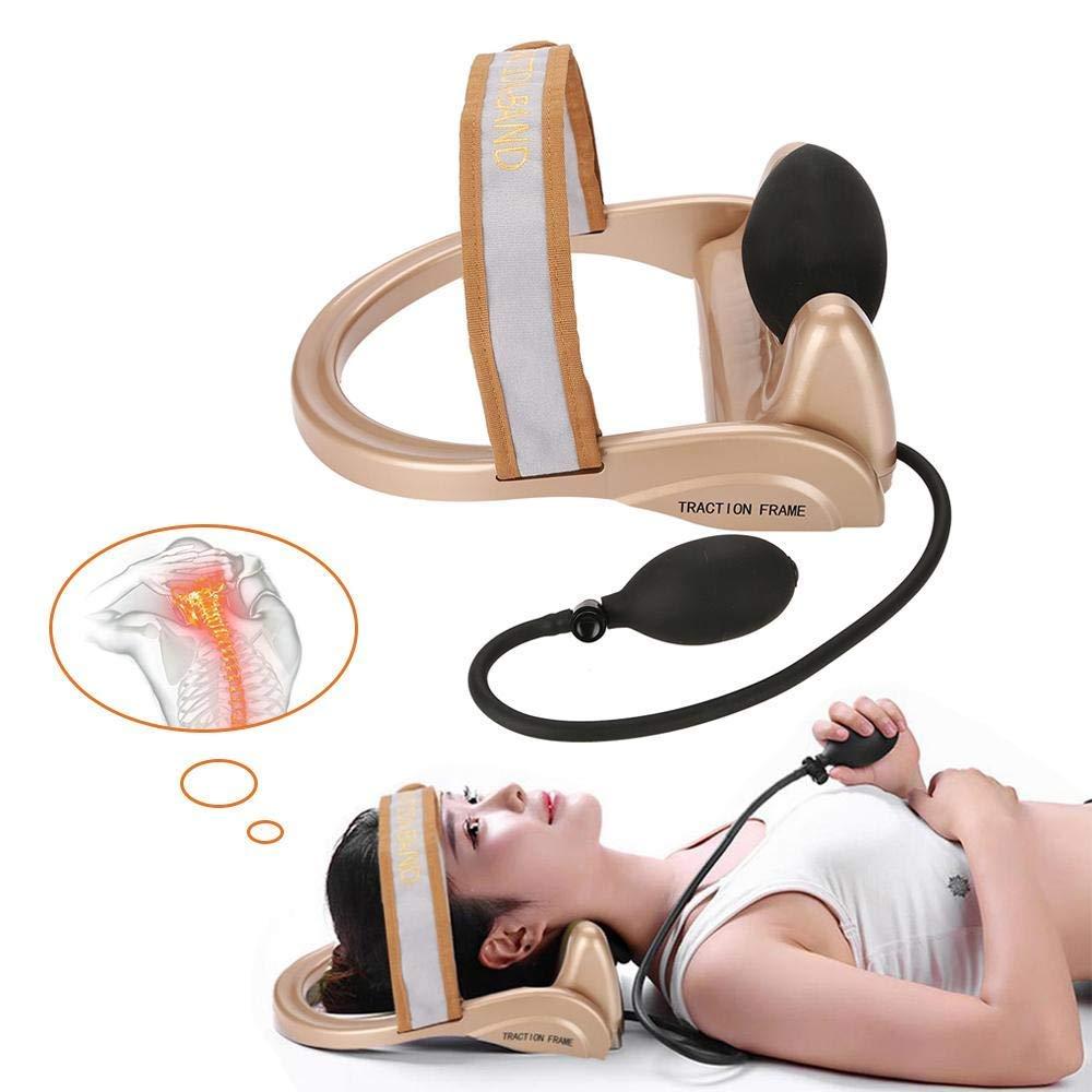 Neck Cervical Vertebra Tractor Pneumatic Neck Spine Posture Traction Instrument