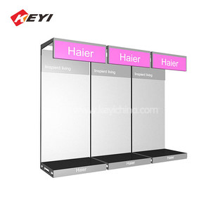 Sample Service Custom Supermarket Equipment Shelf Air Conditioner Display Stand