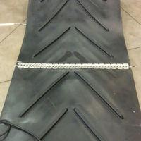 Anti Slip Ribbed Pattern Chevron Endless V Conveyor Rubber Belt