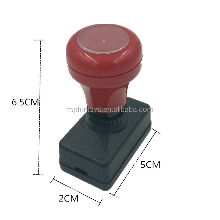 Self inking Stamp Plastic ABS office use Rubber Stamp