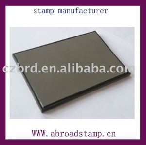 different size of flash stamp pad for making flash stamp