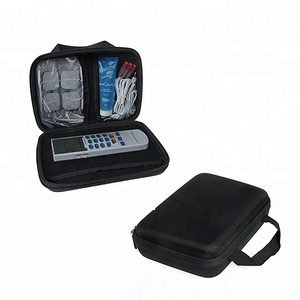 KID eva hard tool case for handheld electrotherapy device electronic pulse massager