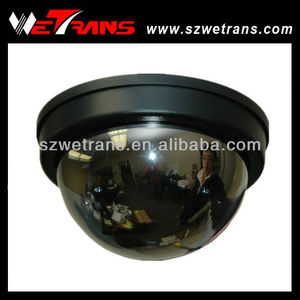 WETRANS TR-SD032MKSH Vandalproof Mirror Cover 600TVL 3.6mm Fixed Lens Fake Security Camera Dome