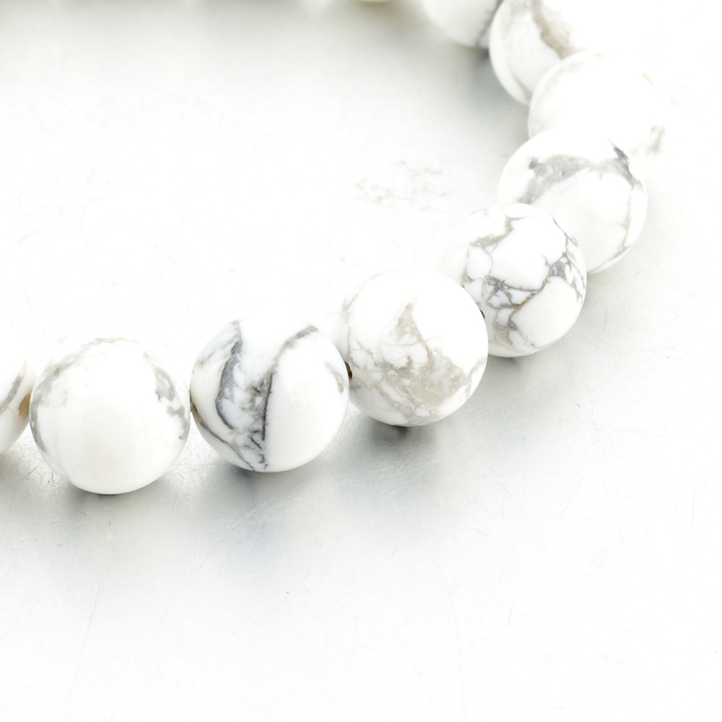 bracelet perle marbre