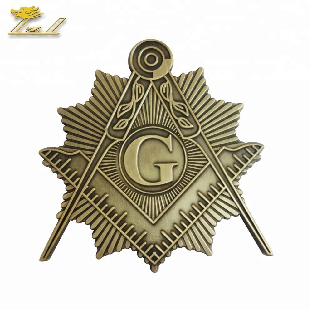 Wholesale Masonic Items Custom Car Emblem