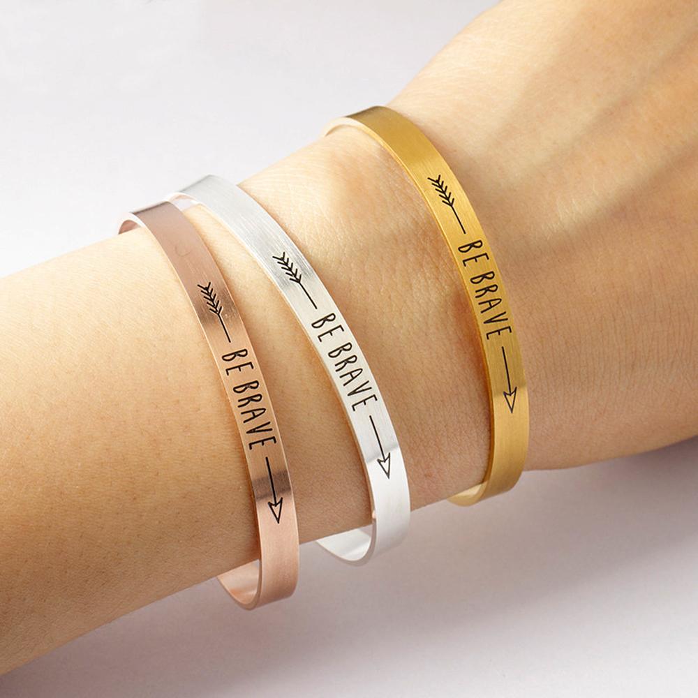 Custom Engraved Gold Bracelets  Awesome Winsome Etsy Mens