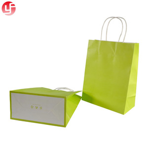 2018 foldable white paper cloth packaging bag with custom print
