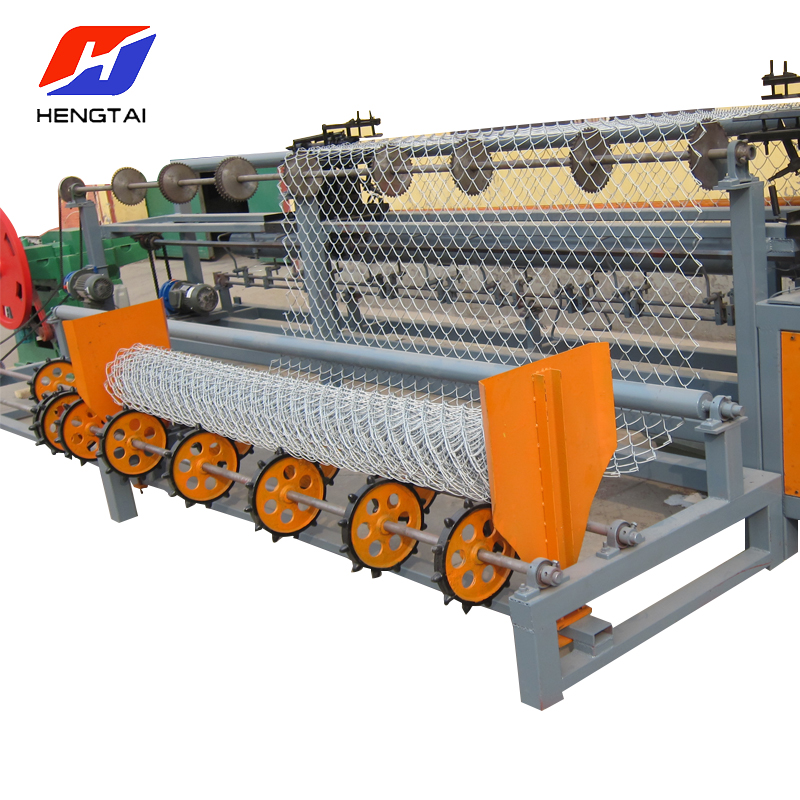 Full Automatic 1.5-4mm Wire Mesh Knitting Machine/Chain Link Fence Machine For Sale