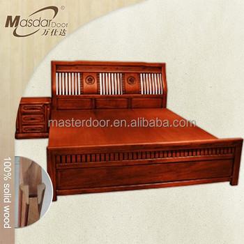 modern bed designs in wood. Modern Standard Size Teak Wood Double Bed Designs In