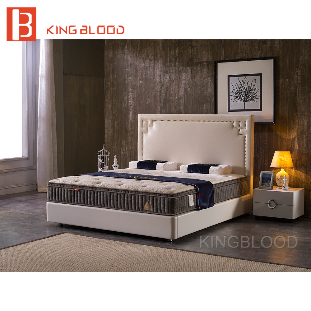 Modern Solid Wood King Size Queen Size Latest Double Bed Designs