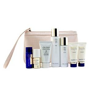 Shiseido Revital Set: Cleansing Foam I 20gx2pcs+Lotion EX II 75ml+Serum AAA 10ml+Moisturizer EX II 30ml+Lotion AA 20ml 7pcs+1Bag