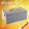 Lead Acid gel solar battery 12 volt 250ah with low self discharge