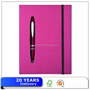 Fashion cheap die-cut Exercise Notebook with Logo