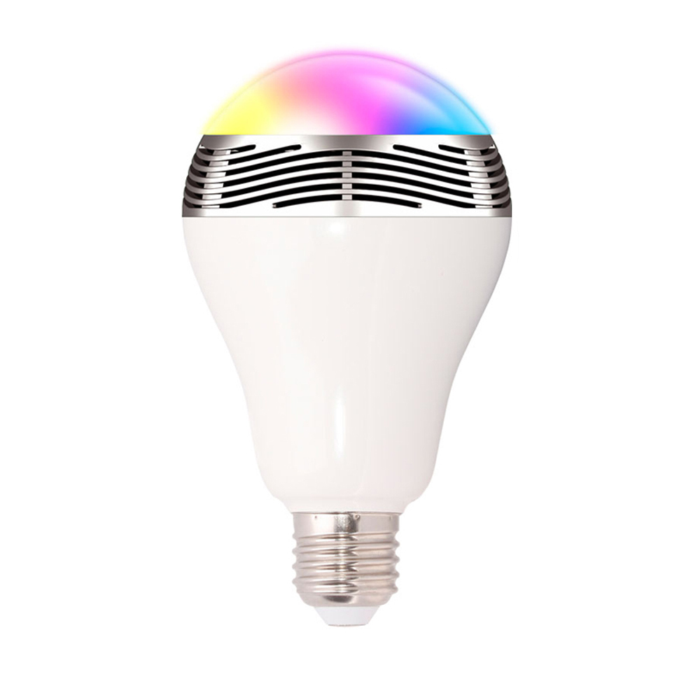 led bulb light <strong>e27</strong> ,best selling products led light bulb bluetooth speaker , wireless bluetooth speaker led lamp