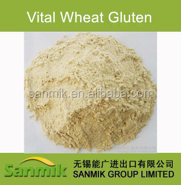 Nutrition Wheat Protein Dried Vital Wheat Gluten Food Grade Feed Grade