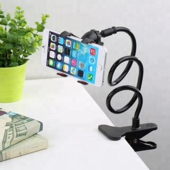 360 Rotating Flexible Long Arm Cell Phone Holder Stand Lazy Bed Desktop Tablet Car Selfie Mount Bracket Neck Phone Holder Stand