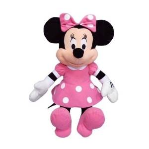 "Disney 9"" Pink Minnie Mouse Plush Toy"