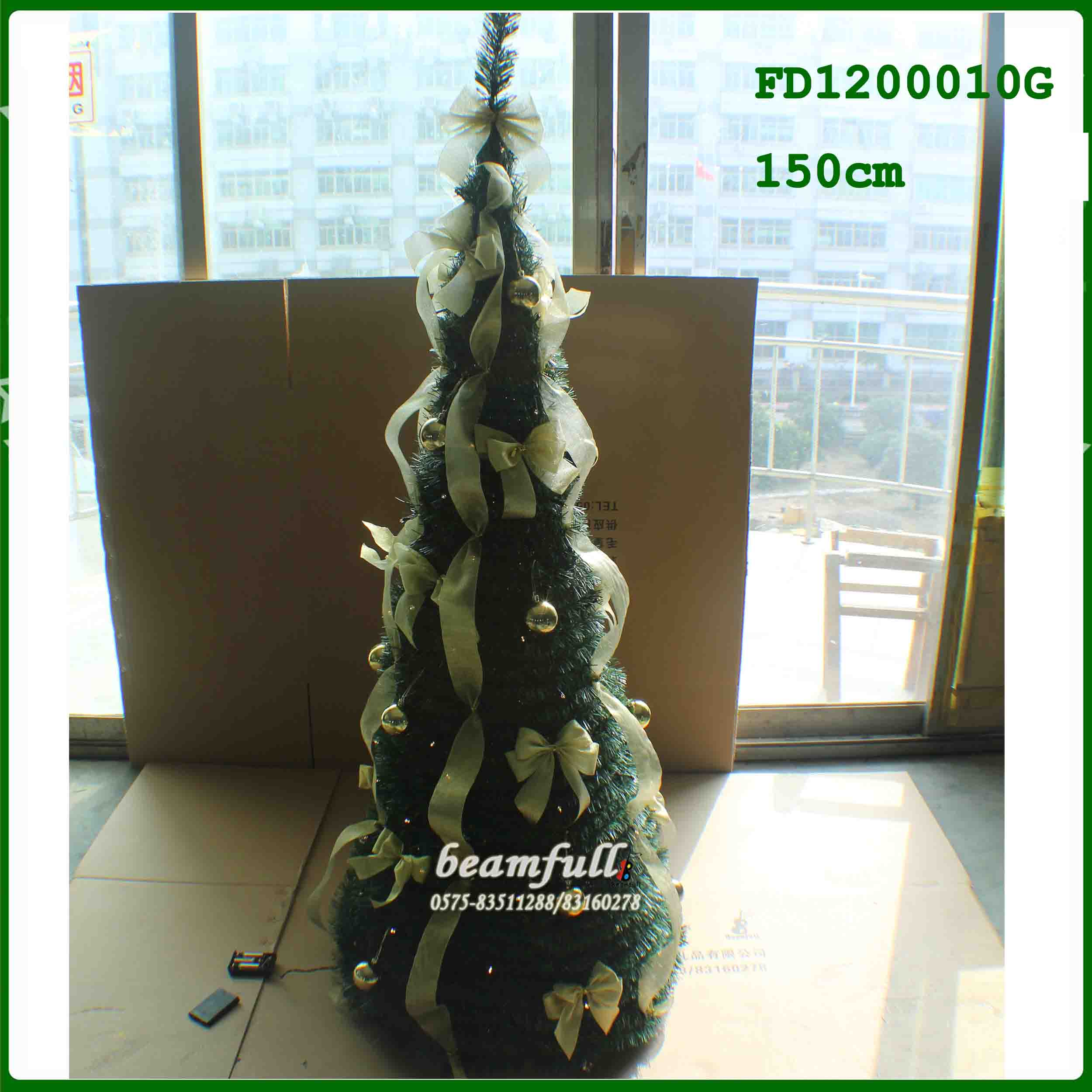 Collapsible Upside Down Christmas Tree