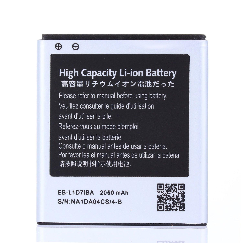 High Capacity Samsung Galaxy S II Hercules SGH-T989 Battery EB-L1D7IBA For Samsung Galaxy S II Hercules SGH-T989 / Samsung Galaxy S II Skyrocket SGH-i727 / Samsung Galaxy S2 Hercules SGH-T989 / Samsung Galaxy S2 Skyrocket SGH-i727 / Samsung Galaxy Nexus LTE SCH-i515 / Samsung Galaxy Nexus LTE