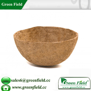 Flower coco liner pot,coconut fiber replacement liner